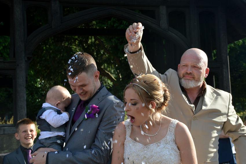 Confetti Wedding Photography Wedding