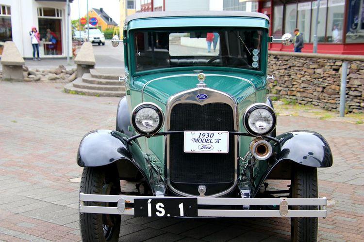 Oldtimern auto