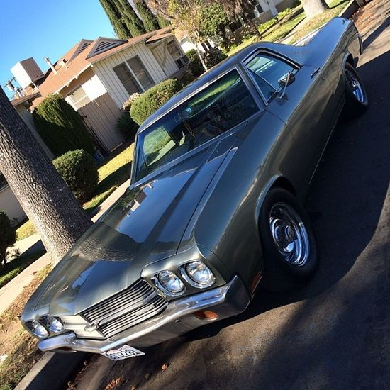 Althea's all touched up and back home. '70 Chevy Chevrolet Elcamino Elco