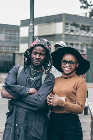 He says he's the devil killer Teenager Fresh EyeEm Best Shots EyeEm Gallery EyeEm Best Edits Casual Freedomthinkers Fashion Africa VisualArt  Street Shootityourself City Friendship Portrait Men Togetherness Warm Clothing Young Women Eyeglasses  Looking At Camera Standing