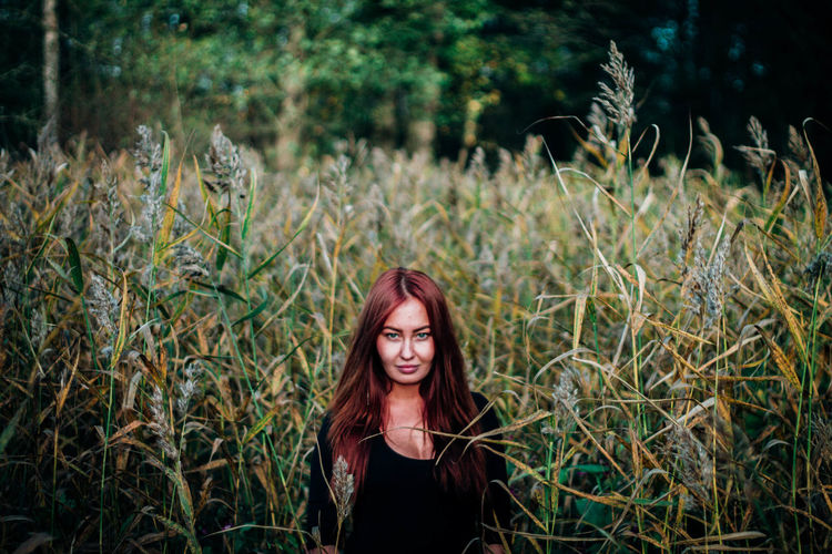 Autumn Colors Russian Girl EyeEm Best Shots Nature Redhead Moscow Flowers