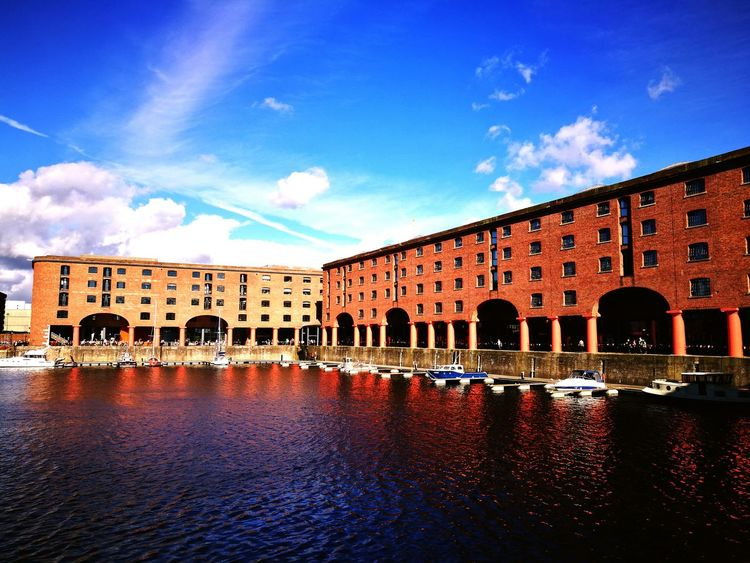 Albert Dock Liverpool England Great Day Out