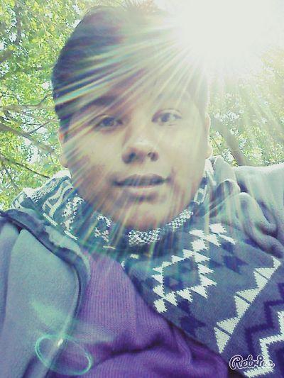 La luz del sol reflejando Relaxing