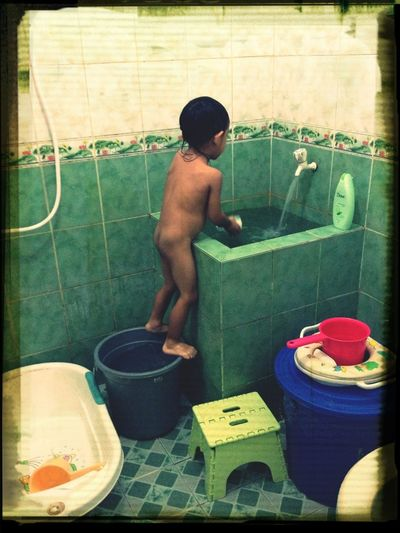 New Style Of Showering