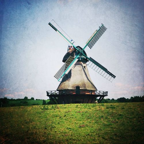 Mühle vom Freihlichtmuseum Molfsee Windmill Deutschland Architecture Museum