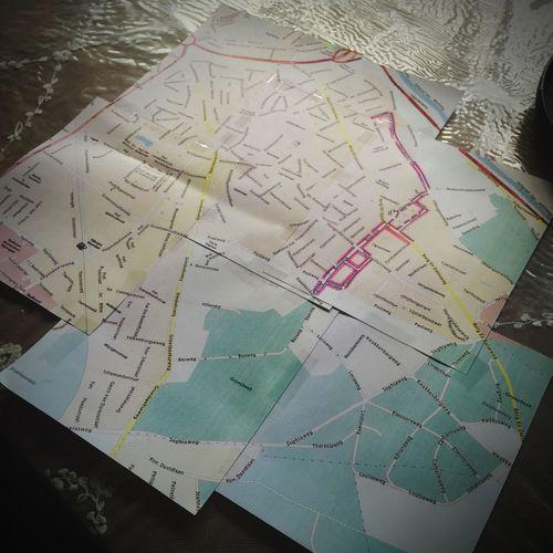 Nijmegen Nijmegen-Oost Map Madeitmyself Zelfgemaakt