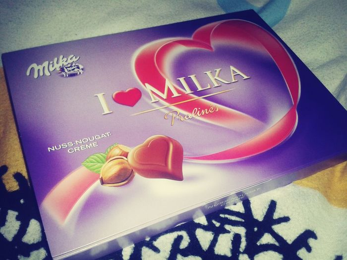 i've got milka from my mom. ♡ Love Chocolate Mom I Love You Hello World Check This Out