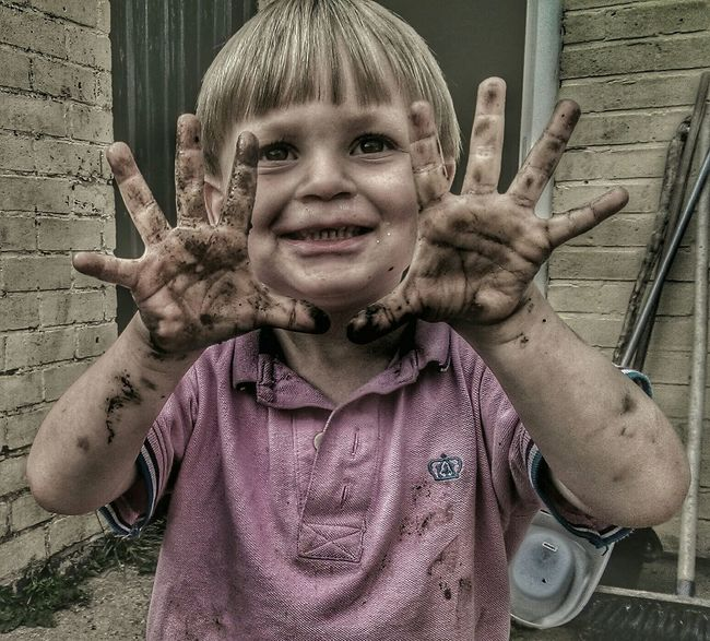 Ughhhhh Ugh Children Photography Mud Mud Glorious Mud A Child's Perspective Children's Portraits Notes Of An Innocent Childhood Hdr_Collection The Moment - 2015 EyeEm Awards Taking Photos