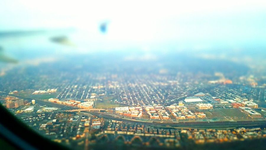 Tilt-shift Showcase March Looking Down View From The Airplane Window Miniature World Interesting Perspectives Cruisingaltitude No People A Bird's Eye View