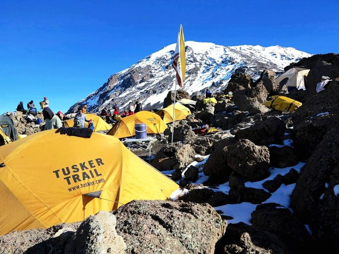 Base Camp on Kilimanjaro. DeLeonStrong Optoutside