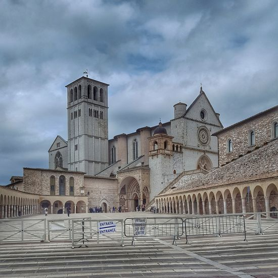 Basilica Superiore San Francesco d'Assisi Assisi Religion Church Important Basilica Umbria Italy Unesco World Phottography Love Religion Architecture Cloud - Sky Spirituality Outdoors Travel Destinations Sky Day No People