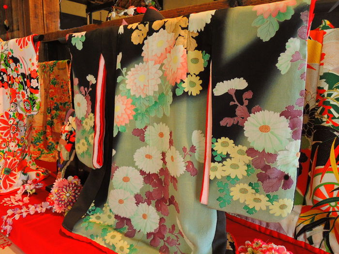 Celebration For Cheldren Close-up Day Indoors  Japanese DressKIMONO Multi Colored No People Traditional Clothing