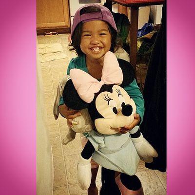 Someone's happy to be home! @choch00 @raynebows07 Alaina33013 Daddysgirl Ohana Iworry