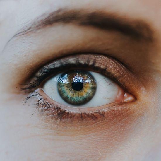 Adult Blue Close-up Day Extreme Close-up Eyeball Eyebrow Eyelash Eyesight Green Human Body Part Human Eye Iris - Eye Looking At Camera Macro One Person Outdoors People Portrait Real People Sensory Perception Vision Young Adult