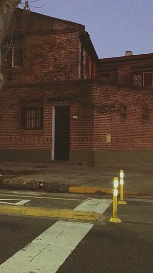 The Street Photographer - 2017 EyeEm Awards Night Building Exterior No People Yellow Color Streetphotography Architecture Illuminated Street Terror House Hiedra