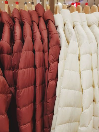 Fashion Red No People Neat Close-up Day Jacket Cloth Wintertime