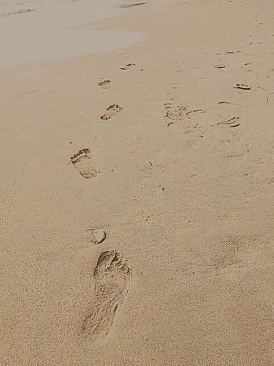 Footsteps In The Sand Footstep Always Moving Forward Footstep🚶 Check This Out Hi!