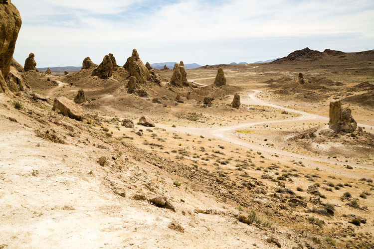 Trona Pinnacles Landscape Series Mojave California 2017 Adventure Club California Desert Deserts Around The World Drought Drought And Floods Global Warming Mojave Desert Rock Formation Adventure Adventureclub Arid Climate Arid Landscape Climate Change Conservation Explore Exploremore Geological Formation Geology Justin Sullivan Mojave Nature_collection Rewilding Trona Trona Pinnacles EyeEmNewHere