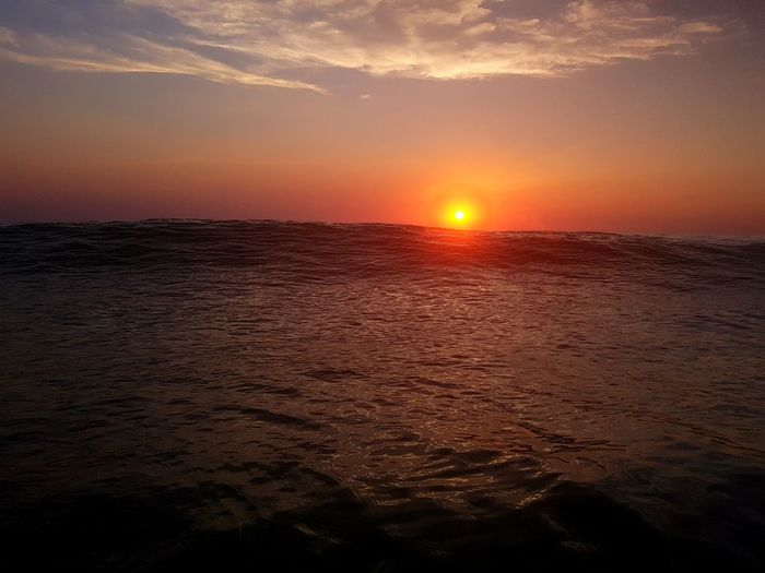 Perspectives On Nature Sunset Beauty In Nature Orange Color Landscape Beauty Summer Horizon Over Water Sun Outdoors Tranquility Awe No People Sky Cloud - Sky Scenics Sunlight Beach