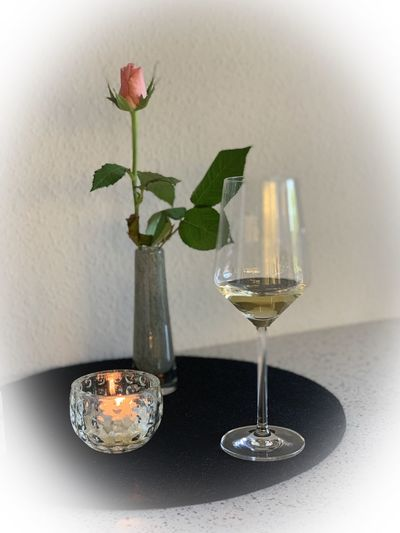 Candle Rose -