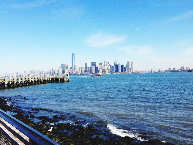 NYC Libertyisland Acrossthewater