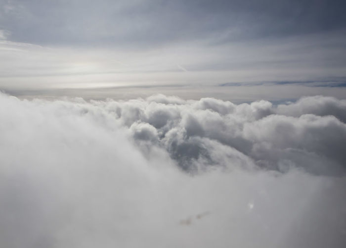 Heaven high above clouds