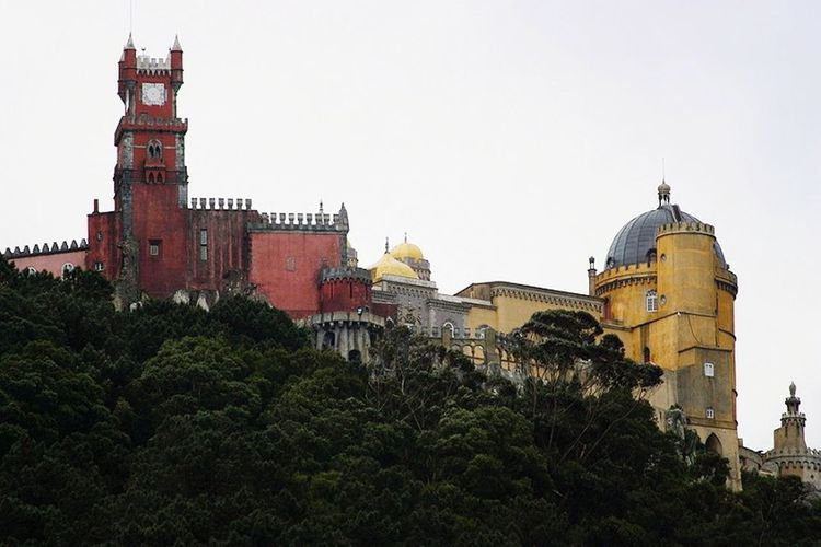 Palaciodapena Palacio Da Pena - Sintra Palacio Real Sintrasecrets Serradesintra Serra Palacio Viladesintra Sintra Palace Park Parquesdesintra