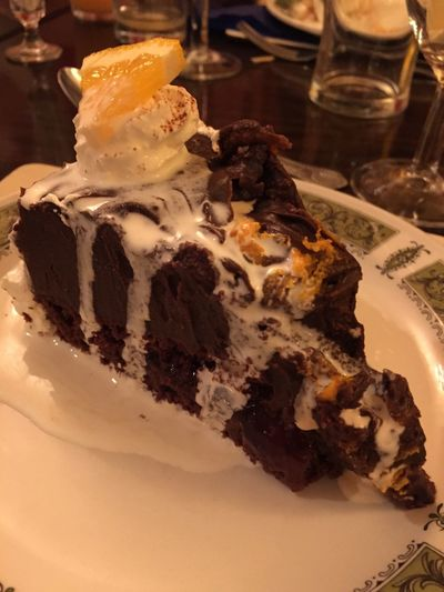 Pudding Restaurant Meal Dessert