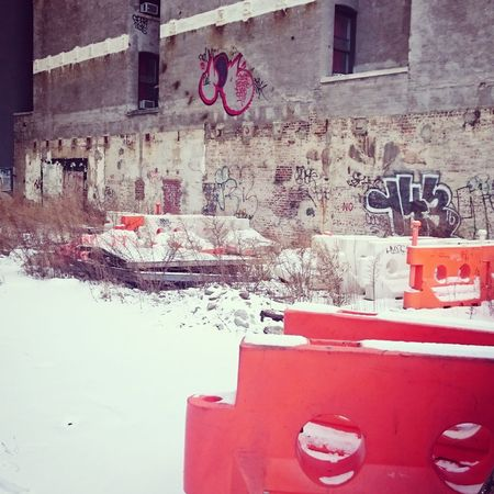 Abandoned Places Under Construction... Abandoned Architecture Building Exterior Built Structure Grafitti Keep Out No People Outdoors Red Urbansnow