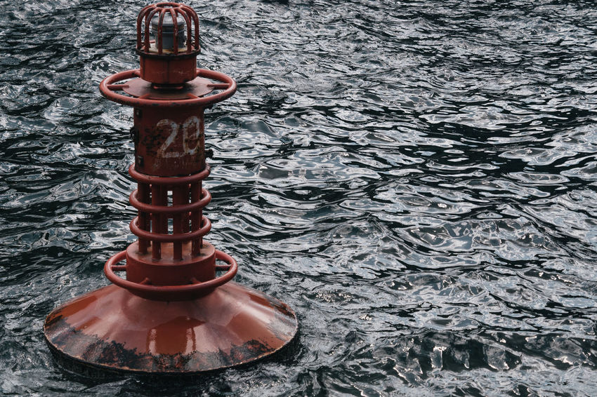 28 Offshore Red Red Buoy Buoy Nautical Outdoors Sea Water Waterfront