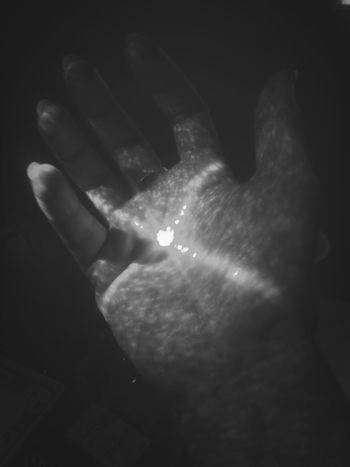 My Hands InTheDark Black & White
