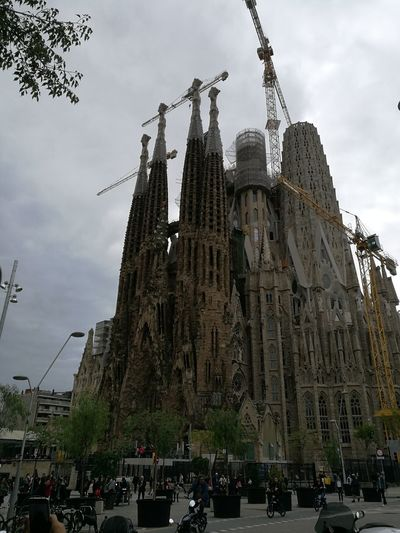 Barcelona, Spain Gaudì Architecture Work Sagradafamiliabarcelona Catedral On Sale My Best Photo City Tree Place Of Worship Politics And Government Statue Spirituality Religion History Sculpture Ancient Civilization Monument National Monument Archaeology