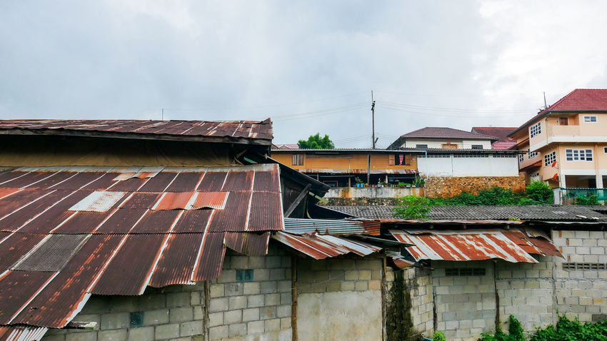 Architecture Building Exterior Built Structure Cloud - Sky Day House No People Outdoors Roof Sky Tiled Roof