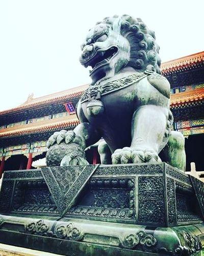 Souvenir Travel China Forbiddencity Malelion