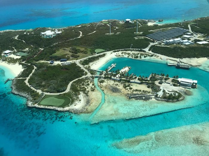 OverYonder Cay Exuma Cays Bahamas Aerial Photography Travel Water Land Sea No People Nature Beach Day Blue Beauty In Nature Tranquility Scenics - Nature Tranquil Scene Outdoors Aerial View High Angle View Travel Destinations Turquoise Colored Idyllic