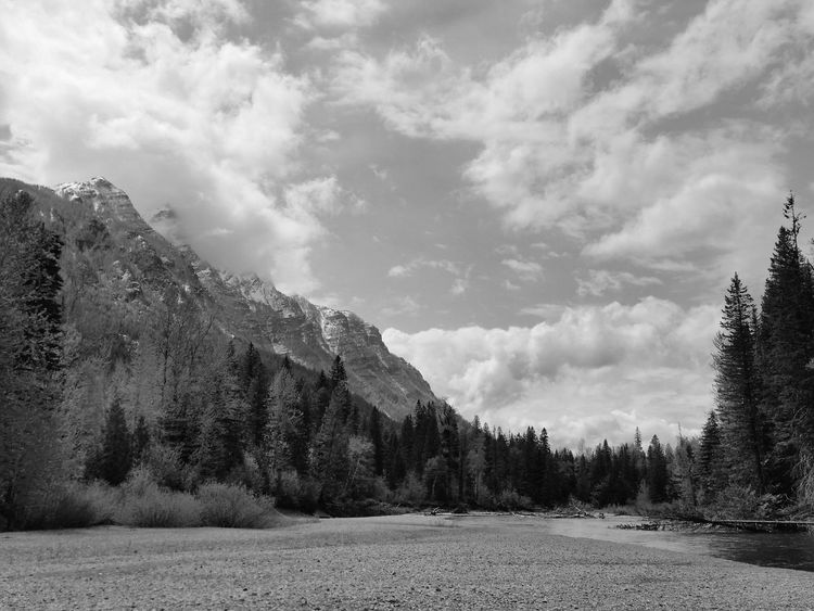 Glaciernationalpark Glacier National Park Black And White Black And White Photography Black And White Collection