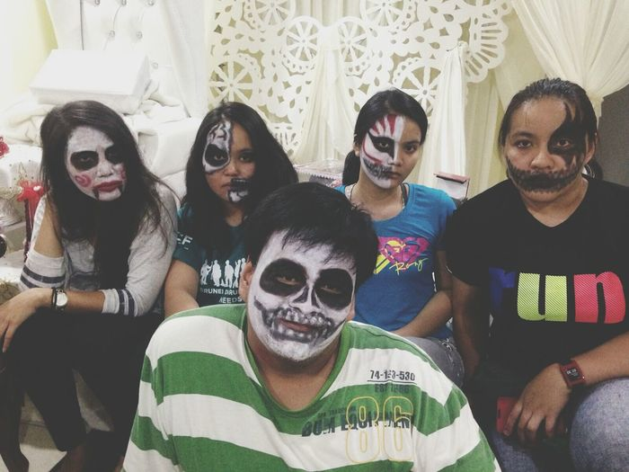 Hollowen Facepainting Funtimes Trickortreat