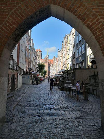 City Arch Sky