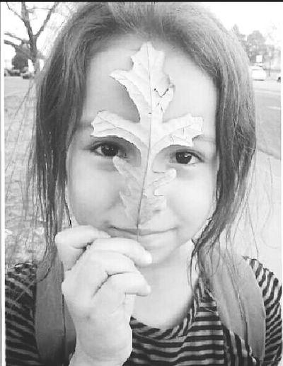 Little sister <3 Leaf Mask Cutie