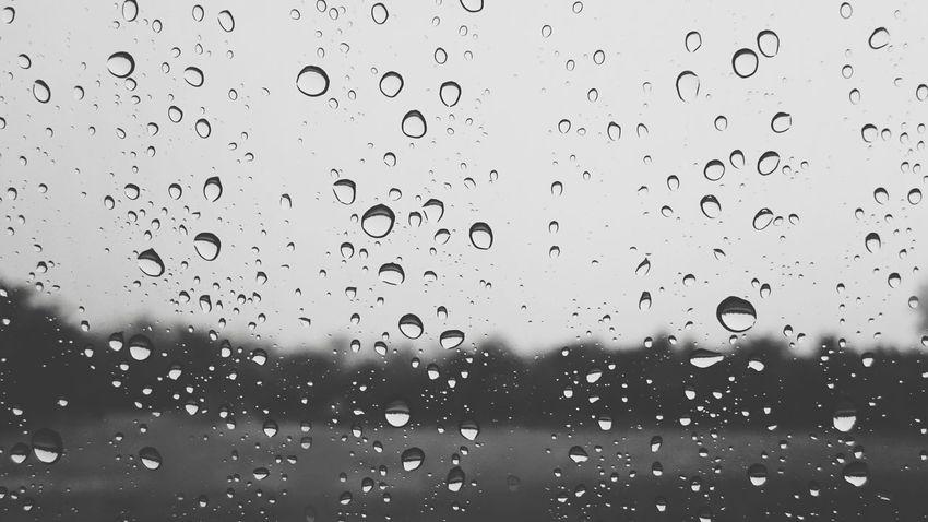 Rain ☔ Photography Blackandwhite Photography Blackandwhite Blackwhite Black And White Zemiphoto Sony Xperia Z3 Photo On The Rain Smartphonephotography