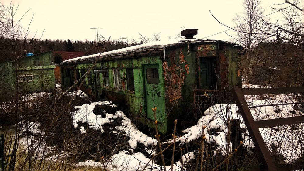 No People Outdoors Old Abandoned Carriage Spring Walk Village Vintage EyeEmNewHere Nature Green EyeEmNewHere