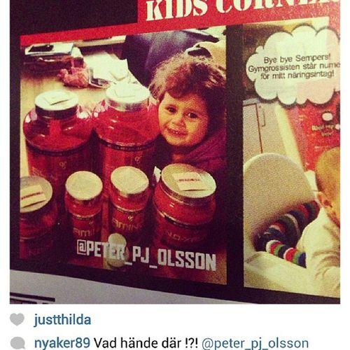 @nyaker89 hittade Ayla i en gymgrossist-tidning. Kids corner! @gymgrossisten Gymgrossisten Kidscorner
