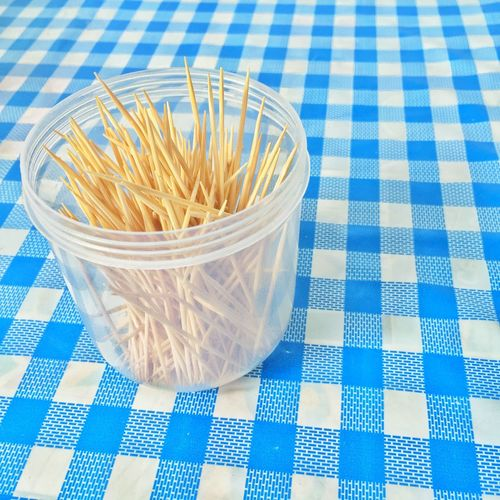 toothpicks in