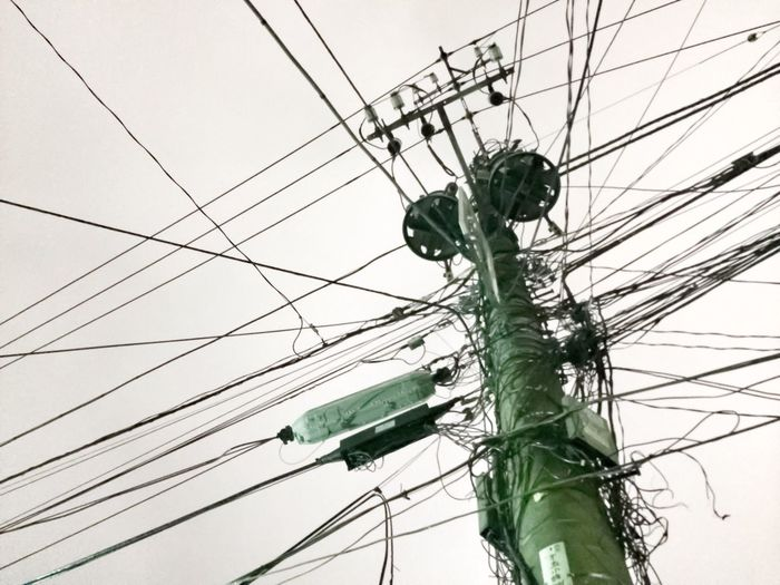 Gridlove Cable Power Line  Power Supply Connection Complexity Electricity  Electricity Pylon Technology