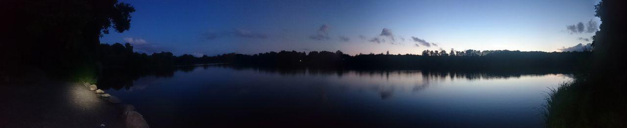 Lakenight Lakeside Lake See Rubbenbruchsee