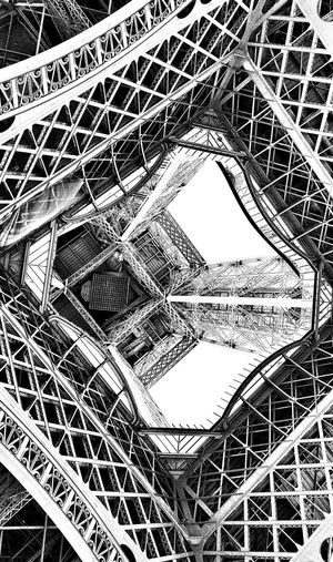 Paris Eiffel_tower  Structure Steel Steel Structure  Steel Tower  High Solid Robust Showcase April The Architect - 2016 EyeEm Awards Original Experiences The Innovator Fine Art Photography
