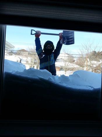 Winter Winteroutsidemywindow Digging Out Snowstorm Man Vs Nature Man Versus Nature Manvsnature  Shovelling Out Shovelling Be. Ready.