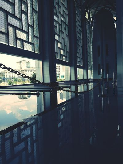 Mosque Architecture No People Reflection Indoors  Water Day Putrajaya Malaysia