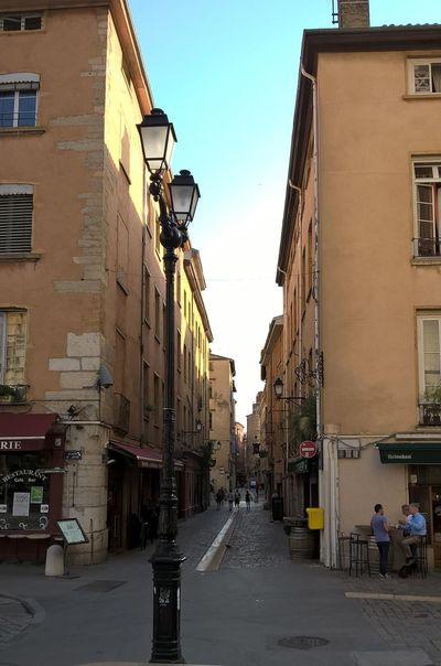 Lyon : Quartier Saint Jean ce matin