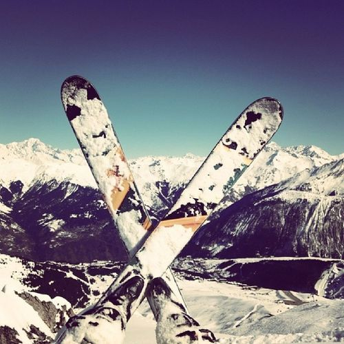 Coreupt Ski Courchevel  Sommet hors piste poudreuse posé 3valées happy montagne